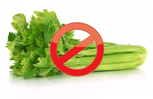 Do not eat celery after gastric sleeve surgery.