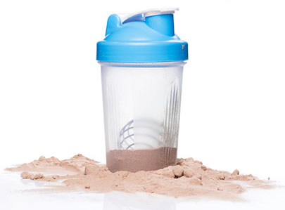 Protein powder drink for stage 2.
